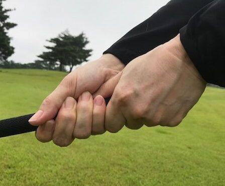 お勧めしたいグリップの握り方 この握り方を是非一度お試しください